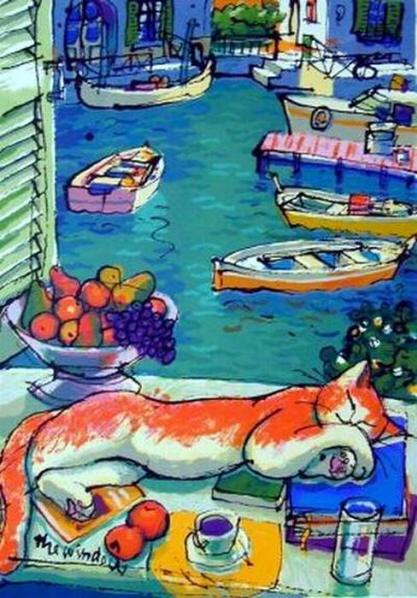 French Cat Video Henri