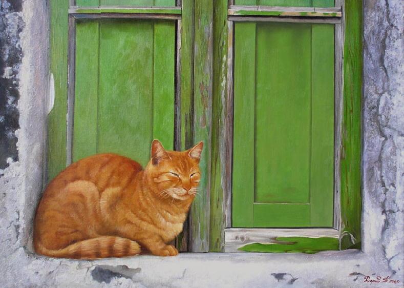 Orange Russian Cat