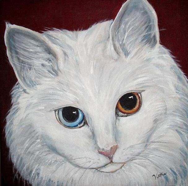 Oil Painting Fur
