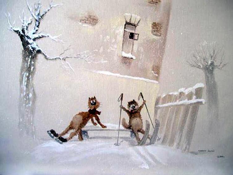 http://catsfineart.com/assets/images/cats/WinterCats/db_Andrew_Repnikov_Winter_amusements1.jpg