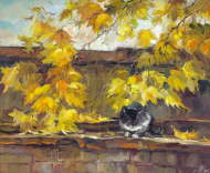 Autumn roof - Anna Charina
