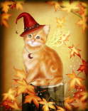 Autumn Cat Magic - Melissa Dawn