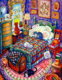 Bill Bell - Cats and Quilts