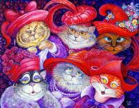 Bill Bell - Red Hat Cats