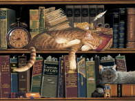 Remington the Well Read - Charles Wysocki