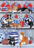 Chrissie Snelling - Kitchen Cats