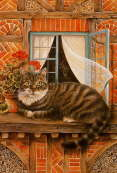The Cat of the House - Lesley Anne Ivory