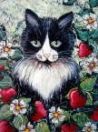 Natalie Holland - Strawberry Lover Cat