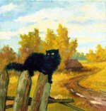 The Cat - Pavel Petrov