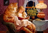 Ruth Sanderson - Home is Where the Cat Is