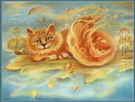 Autumn Cat - Svetlana Krotova