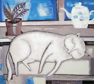 Sleeping Cat - Tatyana Gorshunova