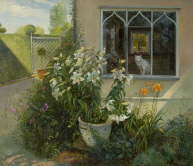 The Chinese Pot of Lilies - Timothy Easton