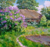S. Pivtorak - Lilac and Cat